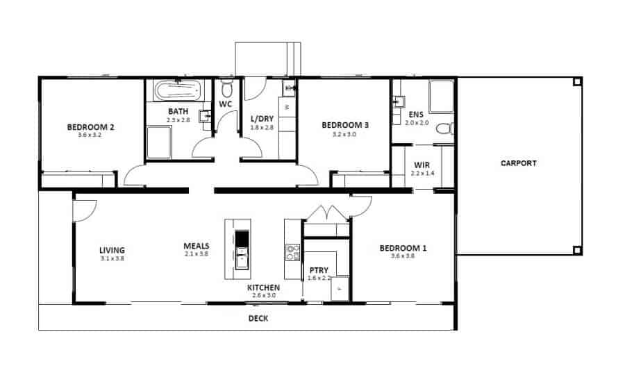 Bowral NSW (Floor Plan)