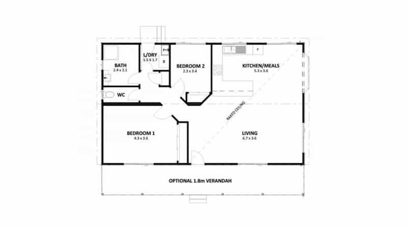 Two Bedroom Modular Homes - Anchor Homes