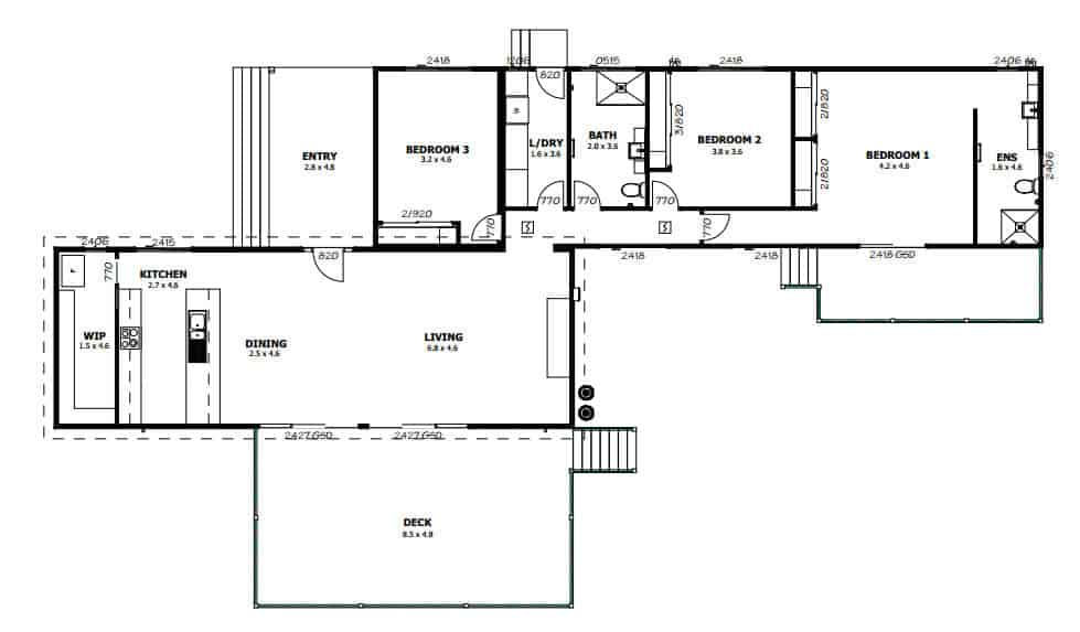 Eden NSW (Floor Plan)