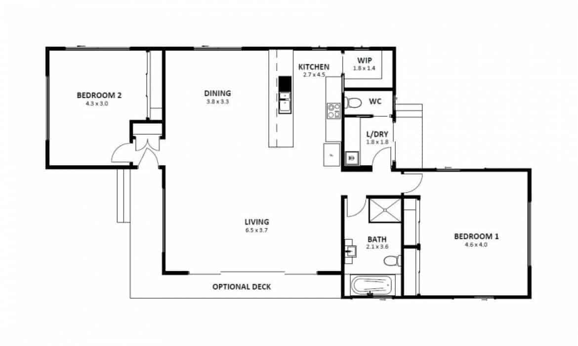 Hampton 12 (Floor Plan)