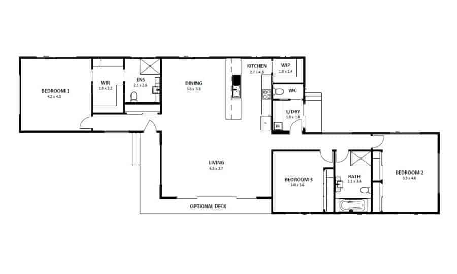 Hampton 16 (Floor Plan)