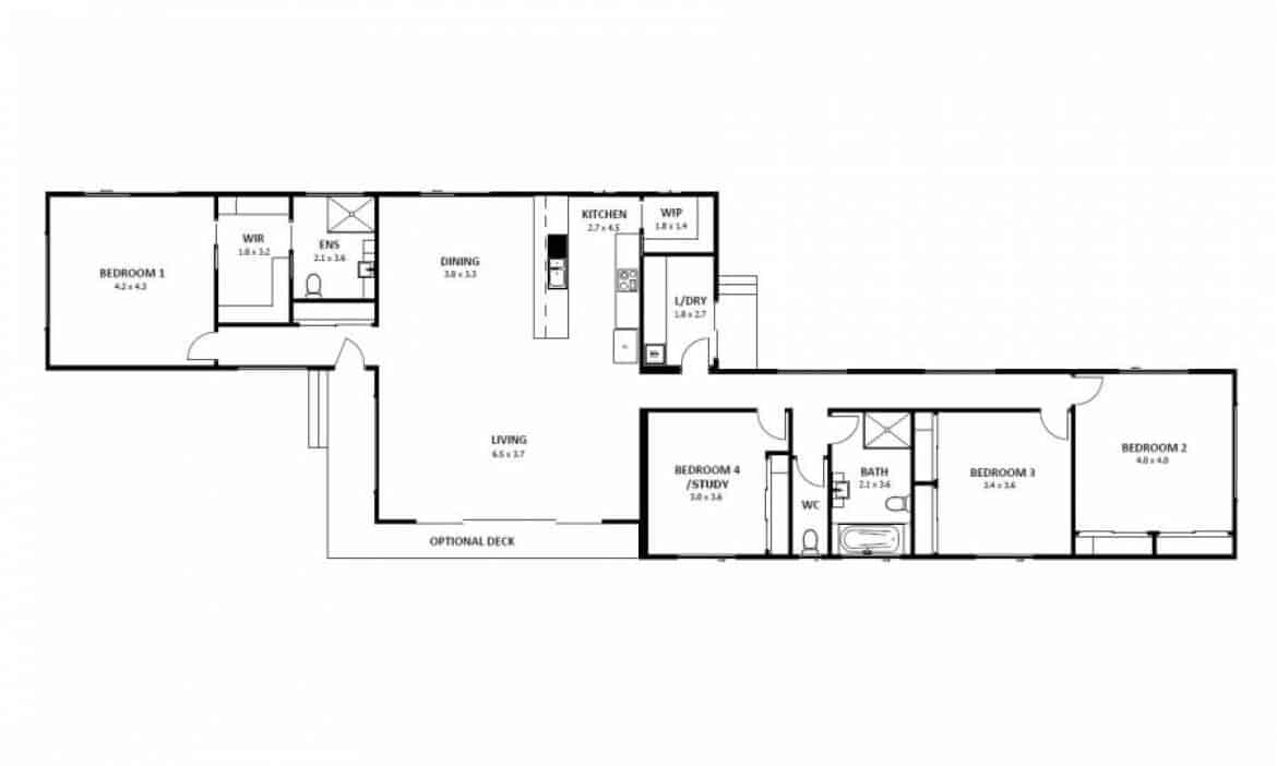Hampton 19 (Floor Plan)