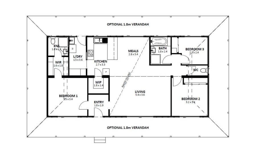 Homestead 2 (Floor Plan)