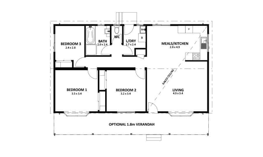 Ironbark 1 (Floor Plan)