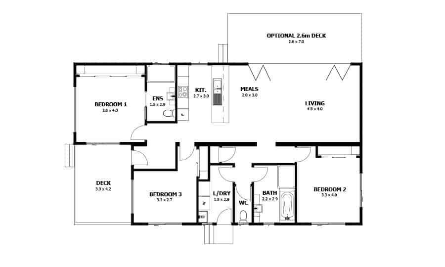 Jindara (Floor Plan)