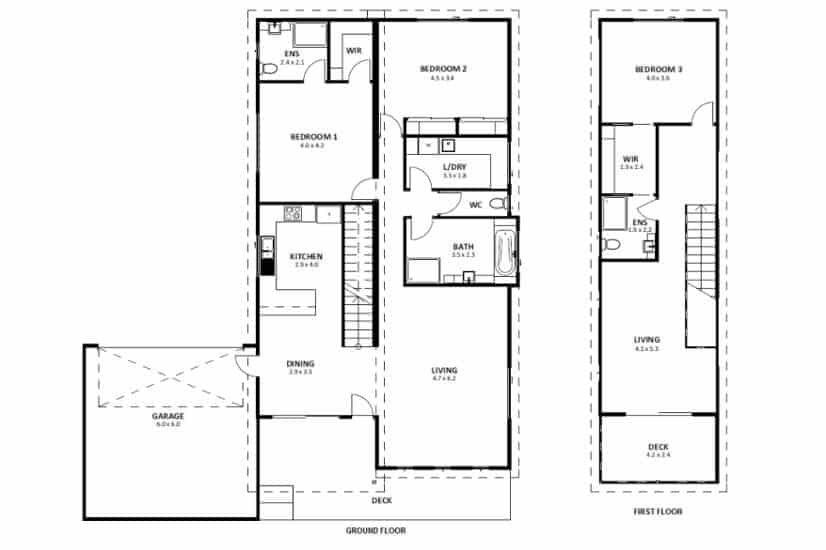 Lake Tyers Beach VIC (Floor Plan)