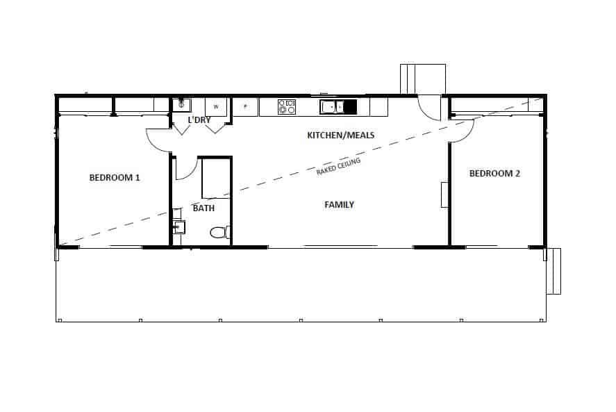 Marysville VIC (Floor Plan)