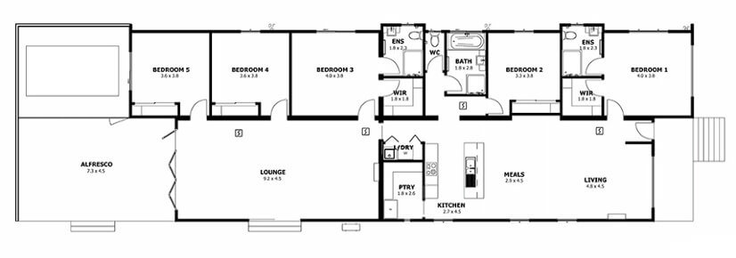 Rye VIC (Floor Plan)