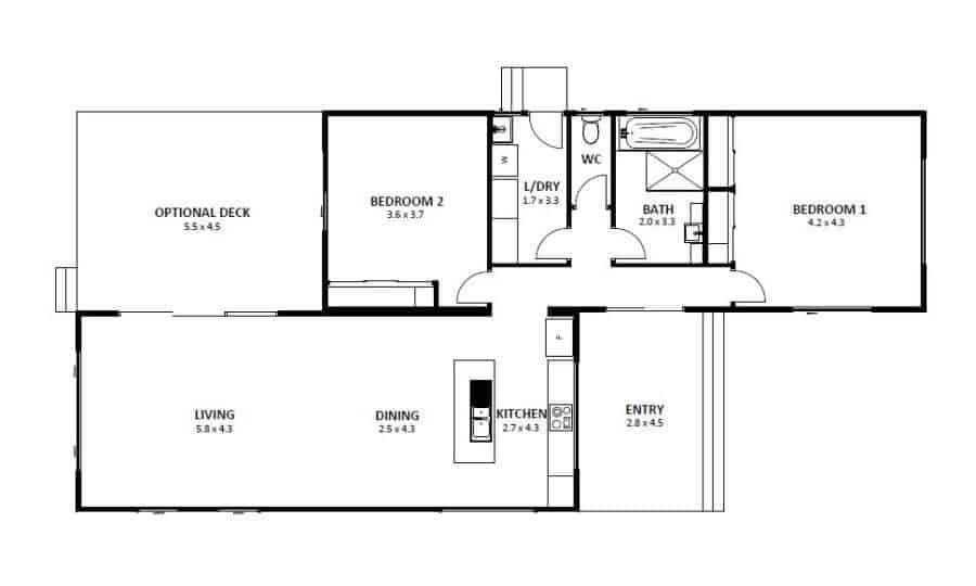 Seaford 12 (Floor Plan)