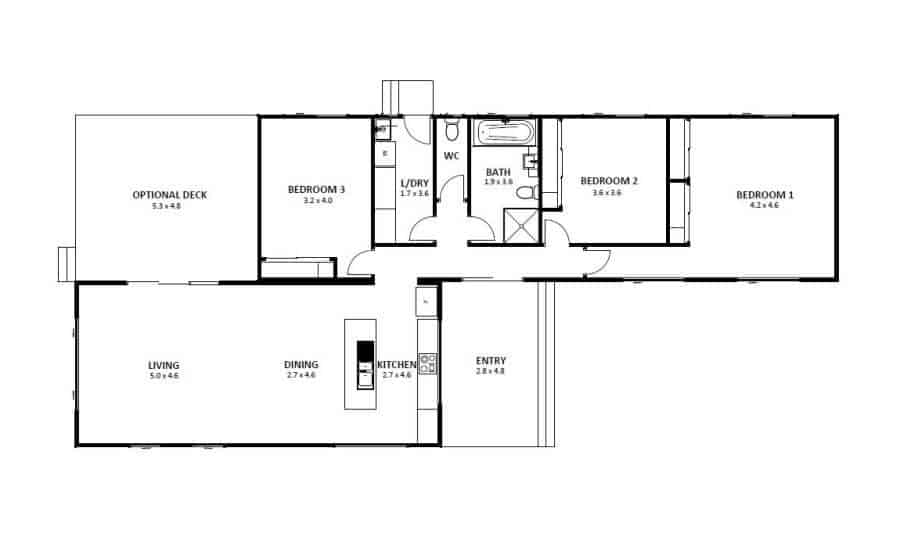 Seaford 14 (Floor Plan)