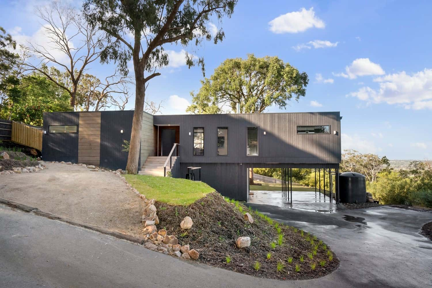 Frankston front view- modular home