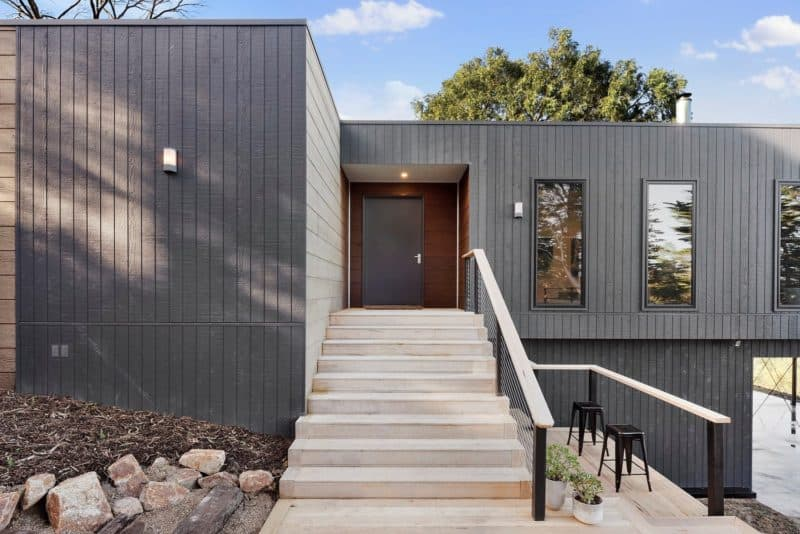 Frankston front door- modular home