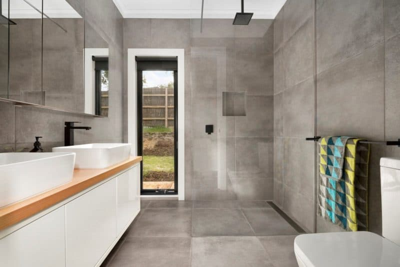 Frankston bathroom- modular home