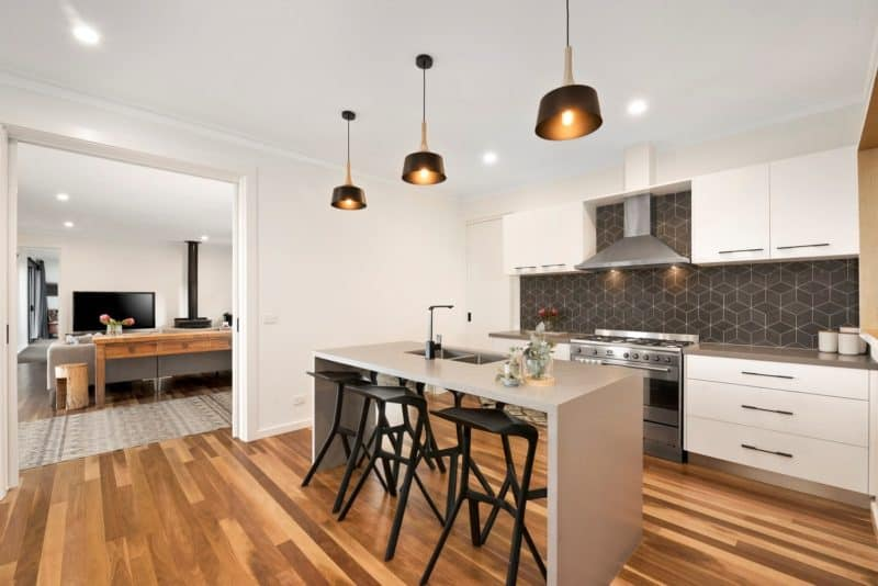 Frankston kitchen- modular home
