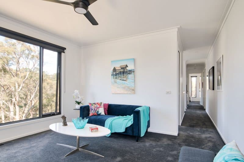 Daylesford project completion floor plan - Anchor Homes living 2