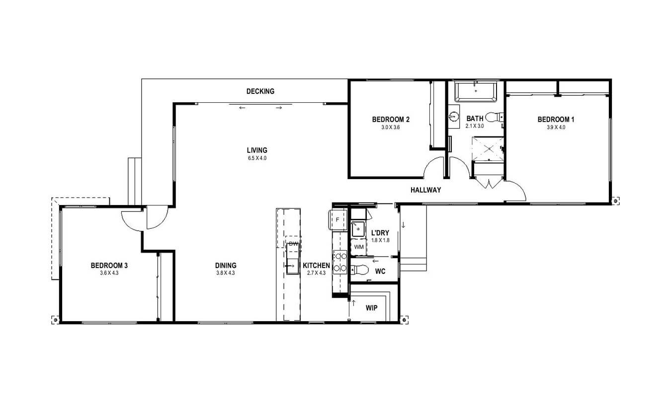 Hampton 14 (Floor Plan)