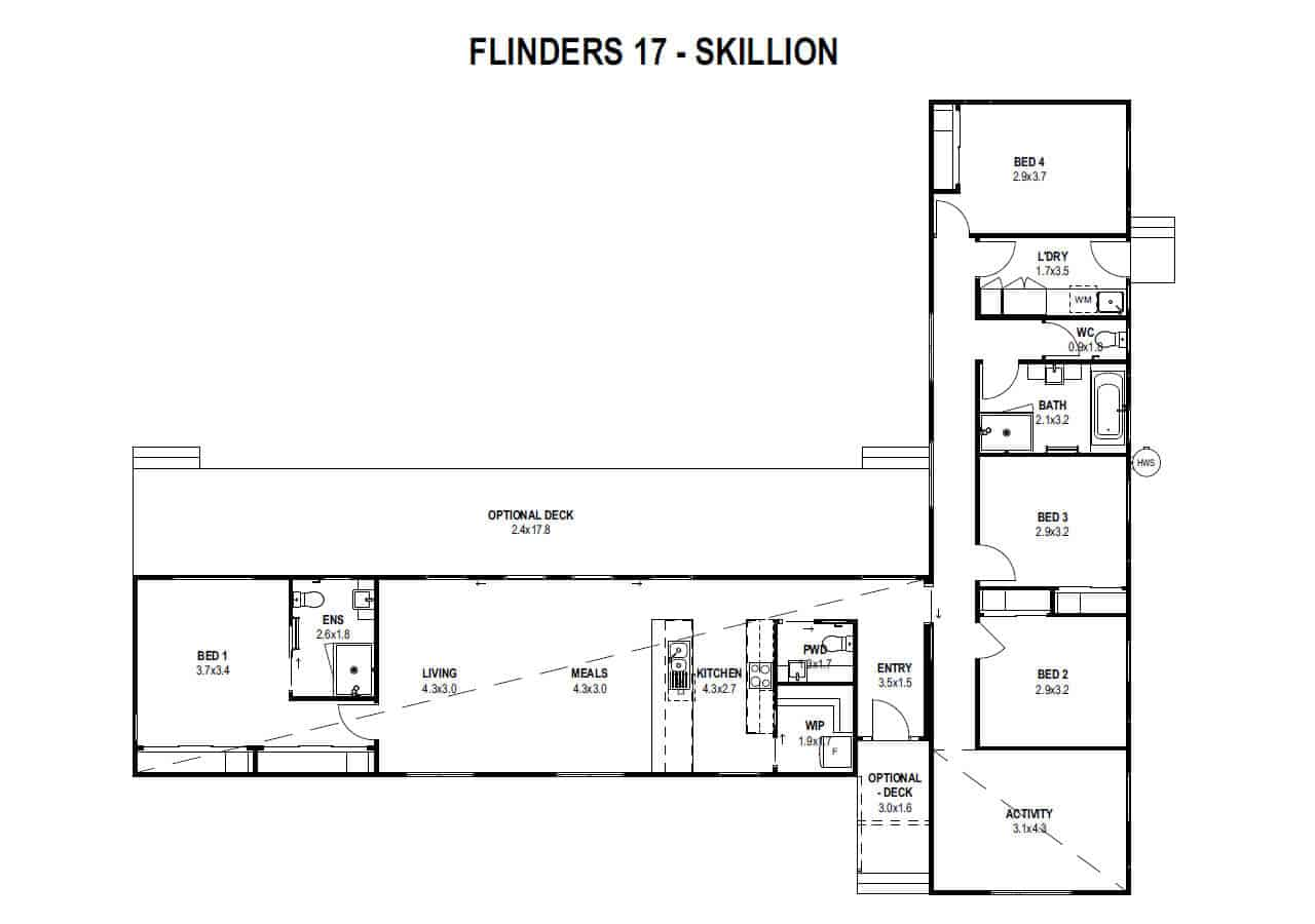 Flinders 17 (Floorplan)