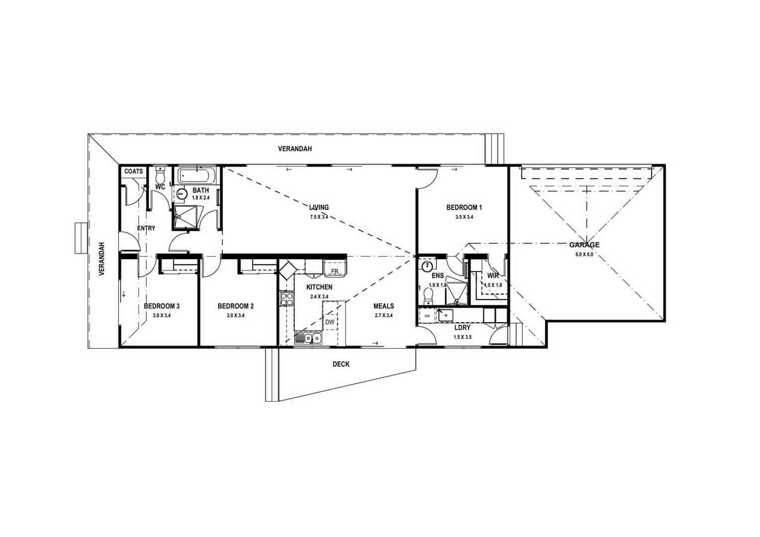 Boronia (Floor Plan)